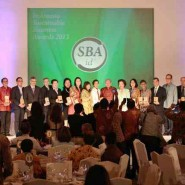 PT. Beton Elemenindo Putra memenangkan Sustainable Business Award Indonesia dalam kategori SME (Small Medium Enterprise)