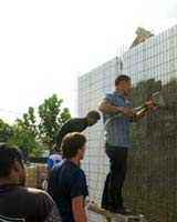 Partner-Installer General Meeting 2010 at Project site