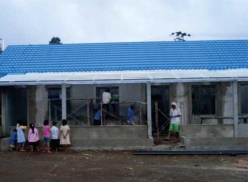 Program Amal PT. Beton Elemenindo Putra: Pembangunan Kembali SDN Mulyasari  Pasca Gempa